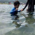 子供が海が嫌いがダメ?海で楽しめないとダメ?